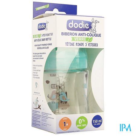 Dodie Zuigfles Glas Sensation+ Parijs 150ml