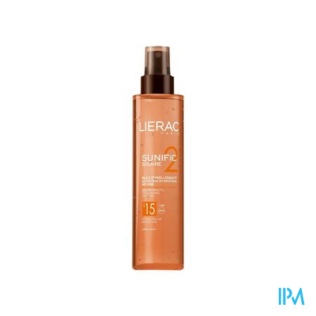 Lierac Sunific Lichaamsolie Embeliss 125 ml spray