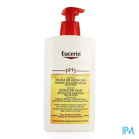Afbeelding Eucerin PH5 Doucheolie met pomp 1L.