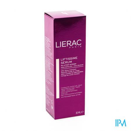Afbeelding Lierac Liftissime Serum Intens Opspannend Serum tegen Rimpels en Verslapte Gelaatscontouren Pompflacon 30 ml .