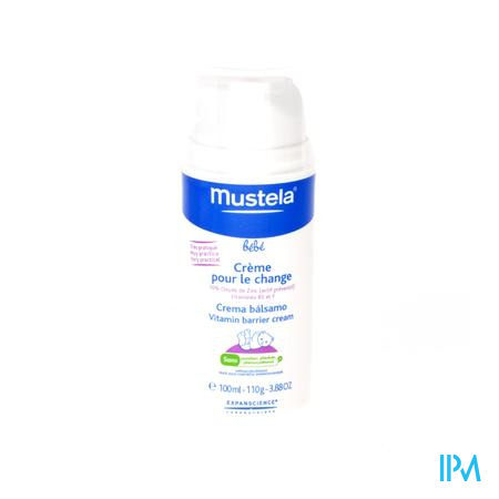 Farmawebshop - MUSTELA BB CREME VOOR LUIERWISSEL NF POMPFL 100ML