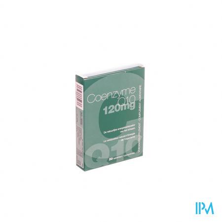 Farmawebshop - Coenzyme Q 10 120 mg 30 tabl