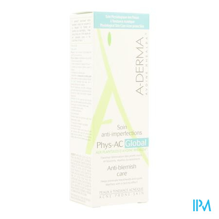 Aderma Phys-ac Global Creme A/onzuiver. Tube 40ml