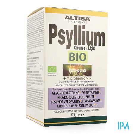 Altisa Cleanse&light Psyllium Probiotica Bio 370g