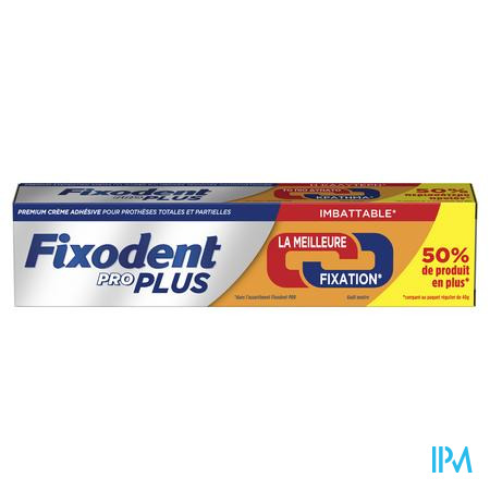 Fixodent Pro Plus Duo Action Kleefpasta 60g