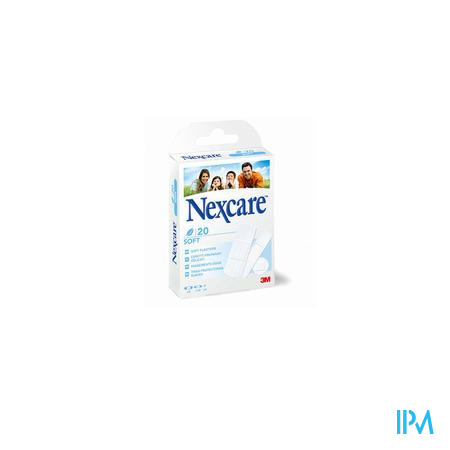 Nexcare 3m Soft Strips 20 N0520as