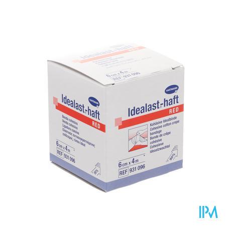Idealast-haft Rood 6cmx4m 1 P/s