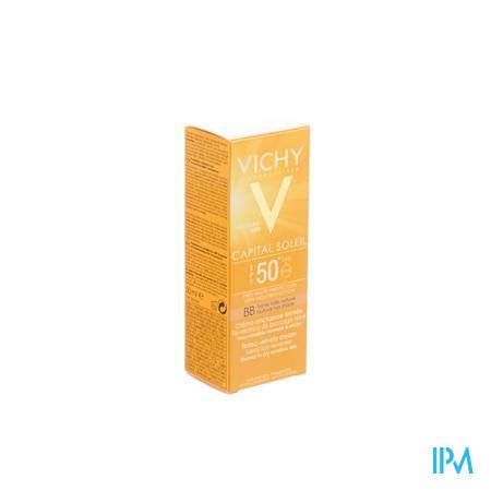 Vichy Crème Solaire Capital Soleil BB Crème Teinté Spf50 50 ml