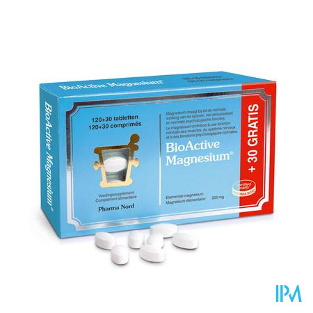 BioActive Magnesium Comp 120+30
