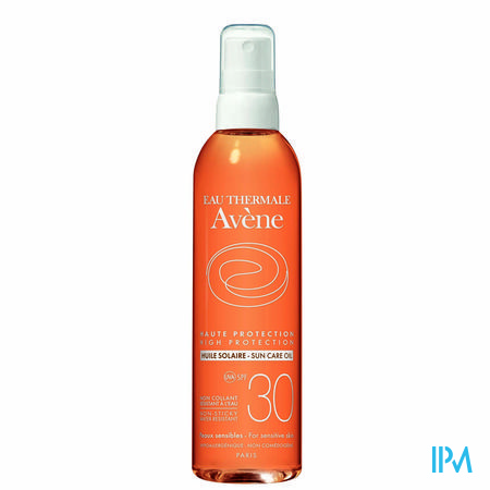 Avene Sol Zonneolie Ip30 200ml