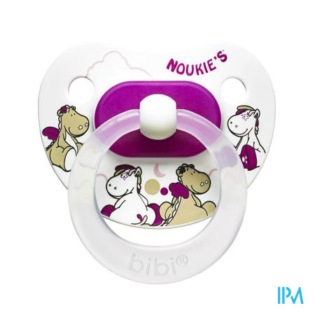 Bibi Noukie's Sucette Victoria & Lucie 0-6M 1 pièce