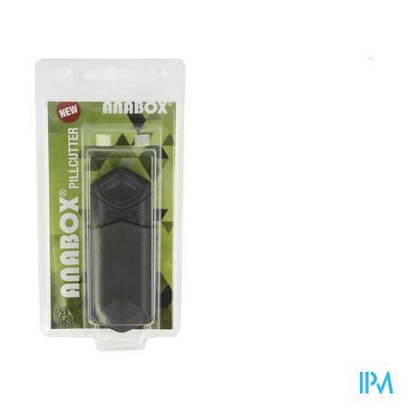 Anabox Pillensnijder Zwart