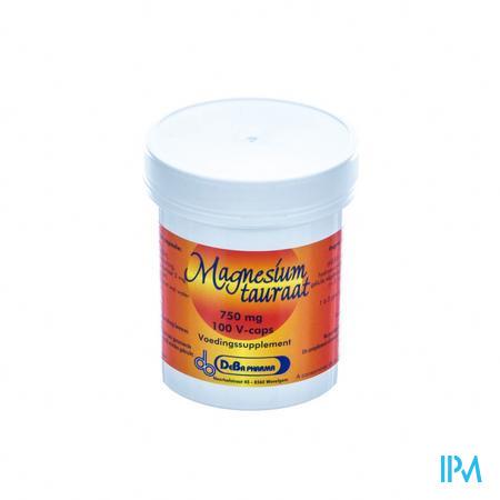 Deba Magnesiumtauraat 750mg 100 tabletten