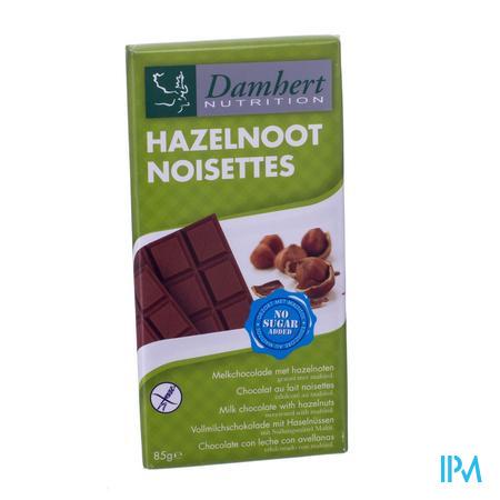 Damhert Chocolade Noten Zonder Suiker 85 g
