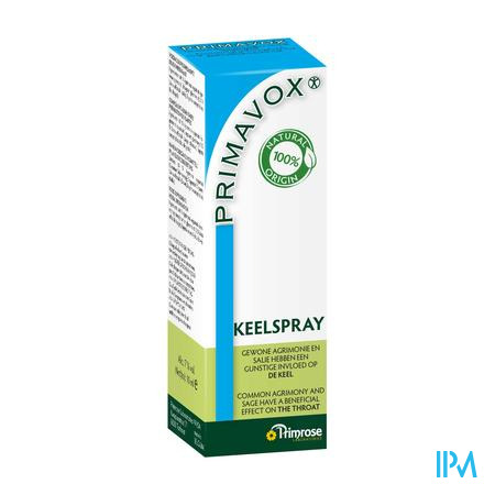 Primavox Adult Keelspray 10 ml