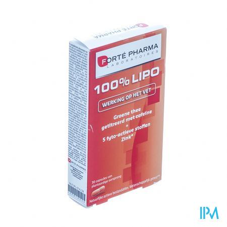 Forté Pharma Lipo 100% 30 capsules