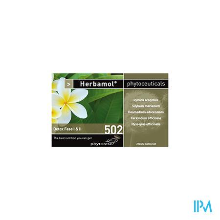 Herbamol 502 Detox Fase i & ii 250 ml