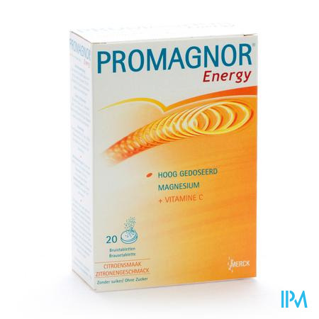 Promagnor Energy 2 x 10 bruistabletten