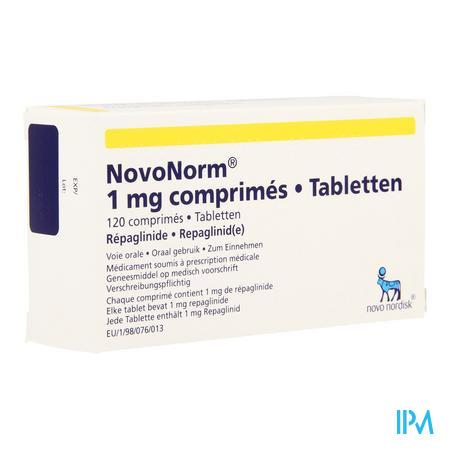 Novonorm Comp 120 X 1,00mg