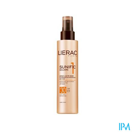 Lierac Sunific Geïriseerde Melkspray Ip30 150 ml