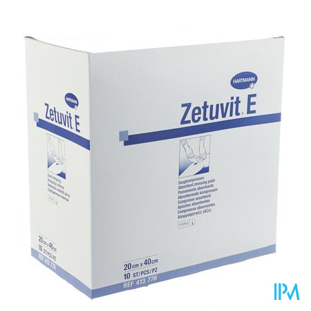 Zetuvit 20cm x 40cm 10 pièces