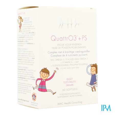 QuattrO3 + PS Softgels 60