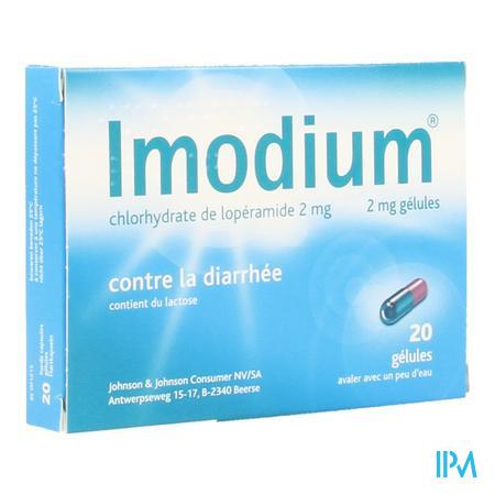 Imodium Capsule 20 X 2 mg