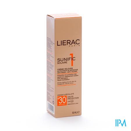 Lierac Sunific Crème Velours Ip30 50 ml