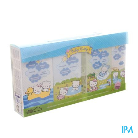 Hello Kitty Baby Welkomstset 4 Producten