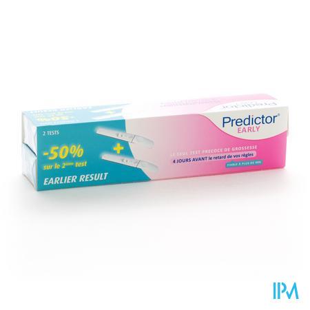 Predictor Test Précoce de grossesse 2 pièces