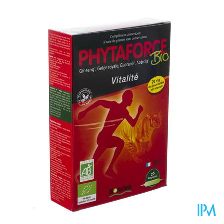 Phytaforce 20x10 ml ampoules