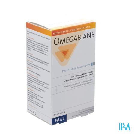 Omegabiane Visolie 100 capsules