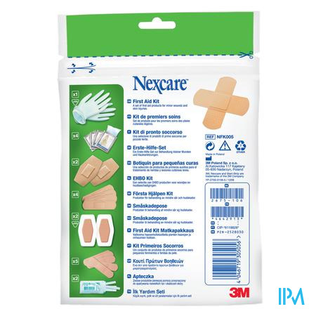 Nexcare 3m First Aid Kit Bag Nfk005