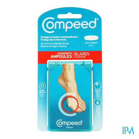 Compeed Ampoules Smal 6 pièces