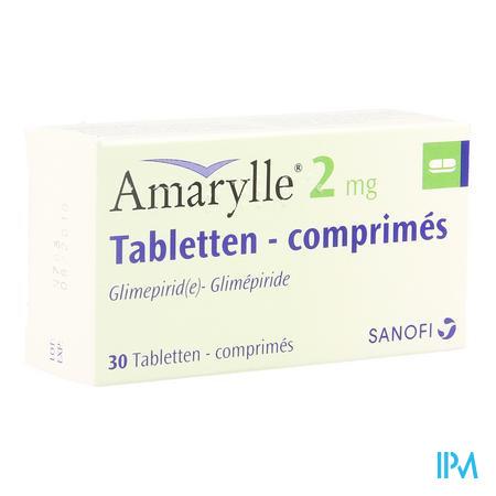 Amarylle Tabl 30 X 2mg