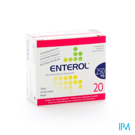 Farmawebshop - ENTEROL 250MG 20ZAK