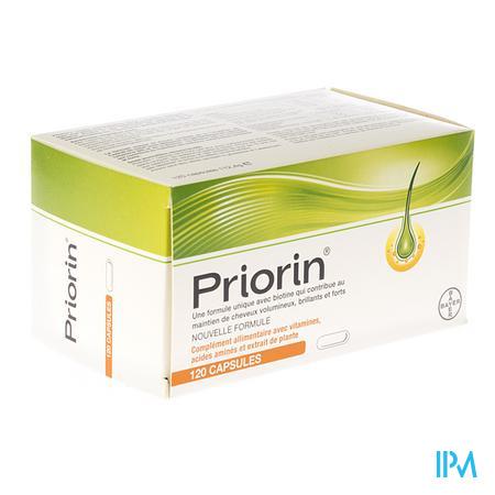 Priorin Contre Perte De Cheveux 120  capsules