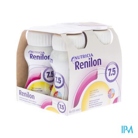 Renilon 4.0 Abrikoos Fles 4x125 ml 570978