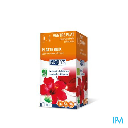 Biolys Fenouil Hibiscus Infusion 20 sachets