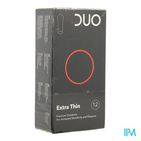 Duo Condom Extra Thin 12