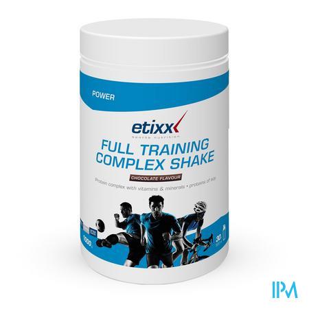 Afbeelding Etixx Full Training Complex Shake met Chocoladesmaak 1 kg.