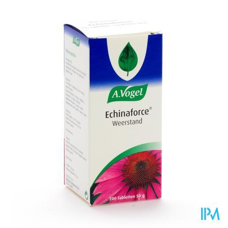Afbeelding A. Vogel Echinaforce voor Weerstand 200 Tabletten .