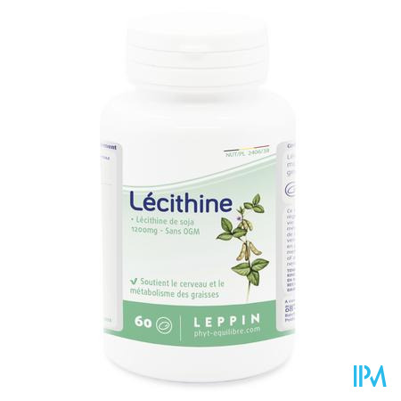 Leppin Soya Lecithine 1200mg Caps 60