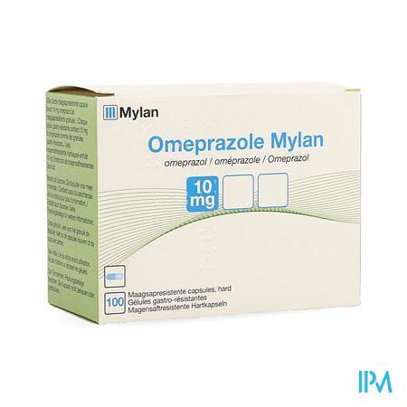 Omeprazol Mylan Caps 100 X 10mg