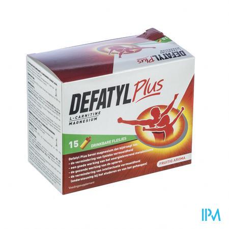 Afbeelding Defatyl plus 15 flesjes.