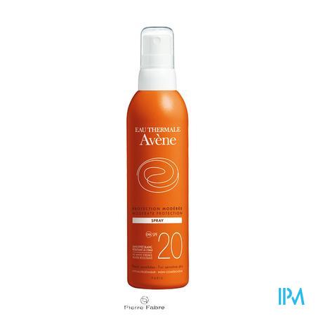 Avène Soleil SPF 20 200 ml spray