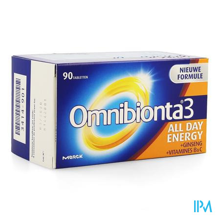 Omnibionta-3 All Day Energy Nf Comp 90