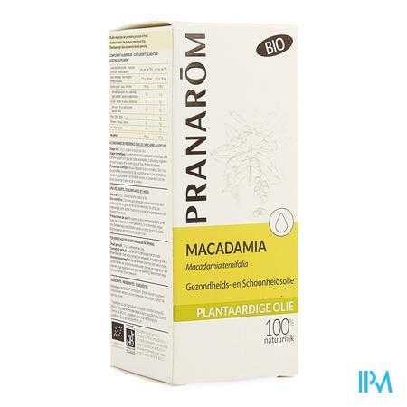 Macadamia Bio Plant.olie 50ml Pranarom
