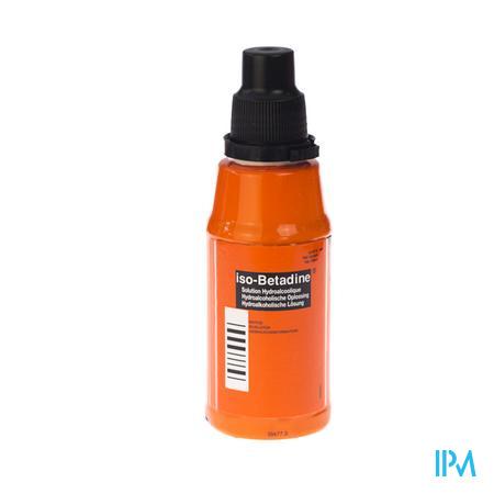Iso Betadine Solution Hydroalc Flacon 125 ml 5%