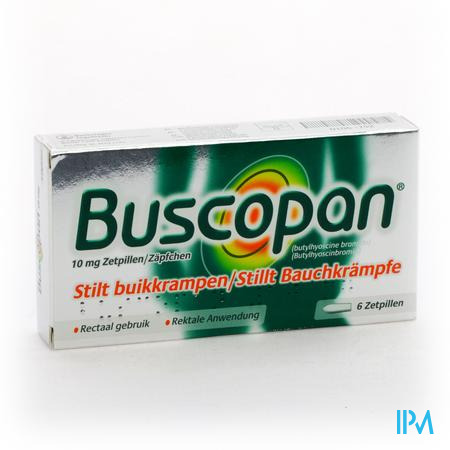 Buscopan Suppo 6 X 10 mg